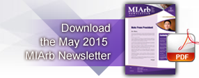 May 2015 MIArb Newsletter