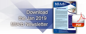 Issue 1, 2018: MIArb Newsletter