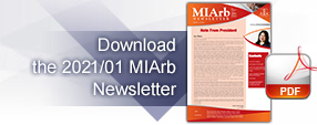 Issue 1, 2021: MIArb Newsletter